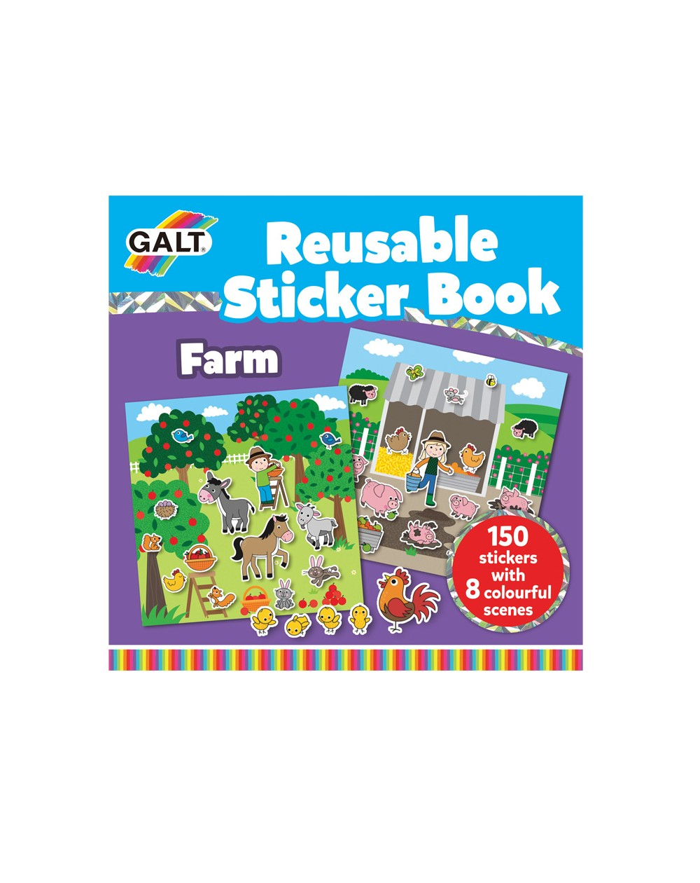 Papeterie & Stickers 12 Design Your Own Giant Farm Animal Sticker